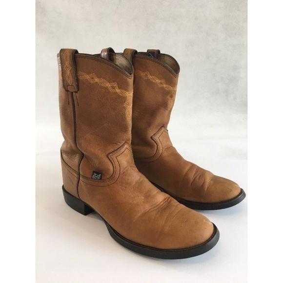 b5a3c7e70ea Justin Boots 9.5C Wide Cowboy L4609 George Strait